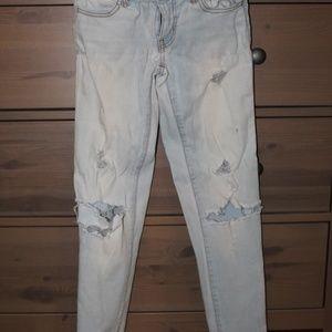 Jeans; skinny jeans